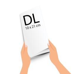 Impression 100 dépliants DL - 10 x 21 cm fermé, A4 Ouvert, Avignon, Vaucluse