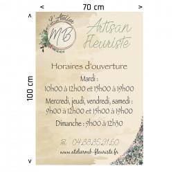 Autocollant, Stickers extérieur 70x100 cm; Avignon, Vaucluse