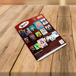 1000 Brochures format A5 fermé