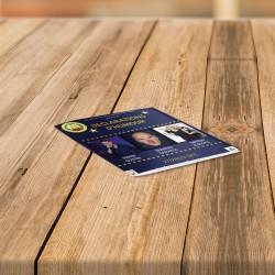 Brochures format Carré 14,8 cm
