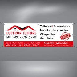 Bâche publicitaire PVC pas chere, Avignon, Vaucluse