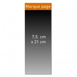 Marque page 7,5 x 21 cm