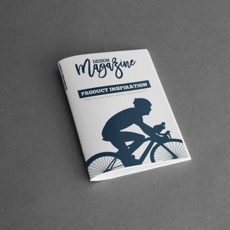 Impression pas cher Avignon, Vaucluse 50 exemplaires brochures / catalogue, agrafage simple, format plié A5 : 4 pages de couvert
