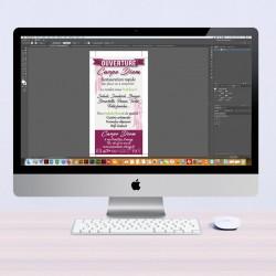 Création graphique flyers
